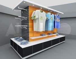 #5 for Diseñar un muebles de melamina y modelarlo de forma realista en 3D by aleluto
