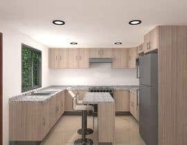 #10 for Diseñar un muebles de melamina y modelarlo de forma realista en 3D by sol2002peamas