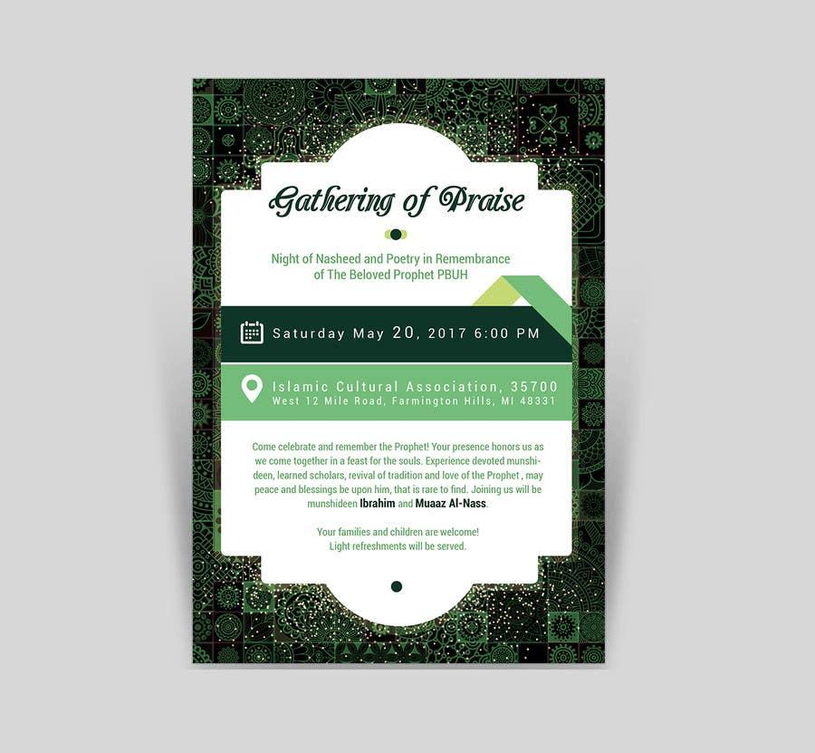 Proposition n°46 du concours Design A Flyer for an Event