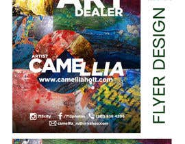 nº 2 pour Local Art Dealer Flyer par KahelDesignLab