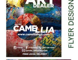 nº 12 pour Local Art Dealer Flyer par KahelDesignLab