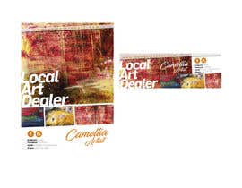 nº 6 pour Local Art Dealer Flyer par ivoarayanJ