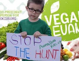 nº 34 pour VeganEvan Facebook Page Cover Photo Contest par Tabitha343