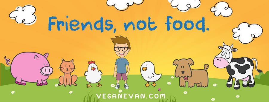 Proposition n°14 du concours VeganEvan Facebook Page Cover Photo Contest
