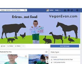 #39 for VeganEvan Facebook Page Cover Photo Contest by Tarikul34