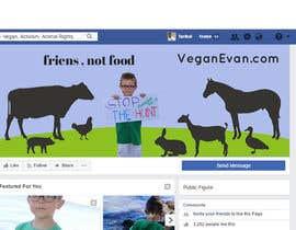 nº 39 pour VeganEvan Facebook Page Cover Photo Contest par Tarikul34
