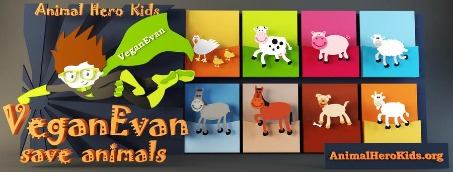 Proposition n°24 du concours VeganEvan Facebook Page Cover Photo Contest