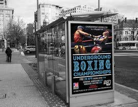 #53 for Design a Poster for a Boxing Event on April 28 by Pibbles
