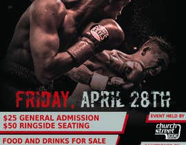 nº 50 pour Design a Poster for a Boxing Event on April 28 par AdamMlcoch