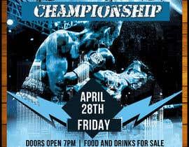 nº 39 pour Design a Poster for a Boxing Event on April 28 par patricashokrayen