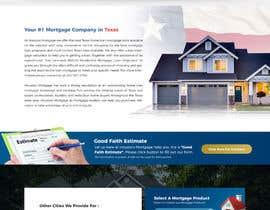 nº 36 pour Design a Website Mockup - HOMEPAGE ONLY - Houston Mortgage par matthewfariz