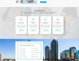 #13 for Design a Website Mockup - HOMEPAGE ONLY - Houston Mortgage by ByteZappers