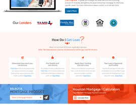#29 for Design a Website Mockup - HOMEPAGE ONLY - Houston Mortgage by ByteZappers