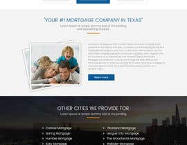 #24 for Design a Website Mockup - HOMEPAGE ONLY - Houston Mortgage by sudpixel