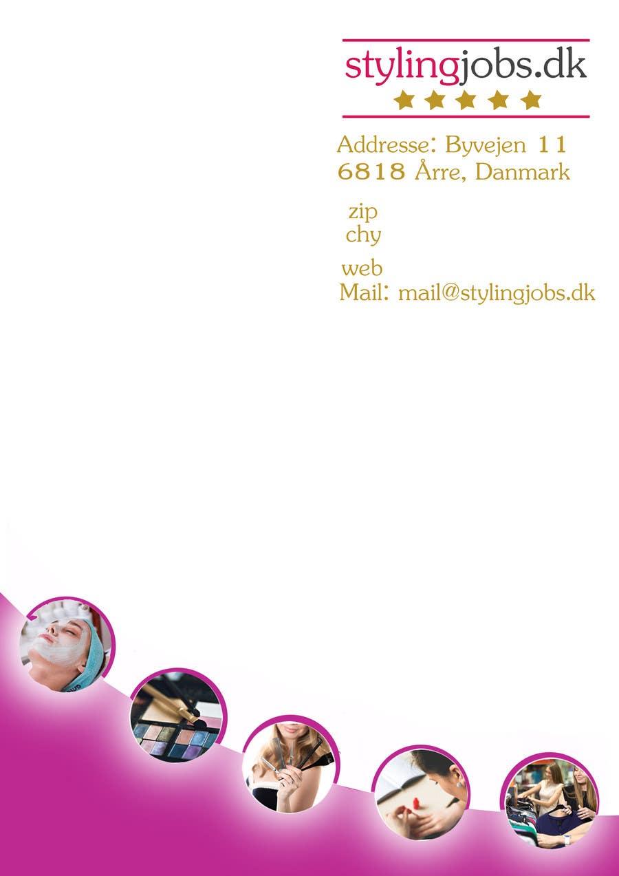 Proposition n°5 du concours A4 Letterhead Design