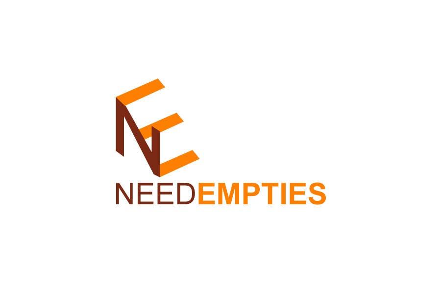 Inscrição nº                                         20                                      do Concurso para                                         Logo for Need Empties