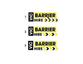 nº 146 pour Logo design for Vic Barrier Hire par Rajmonty