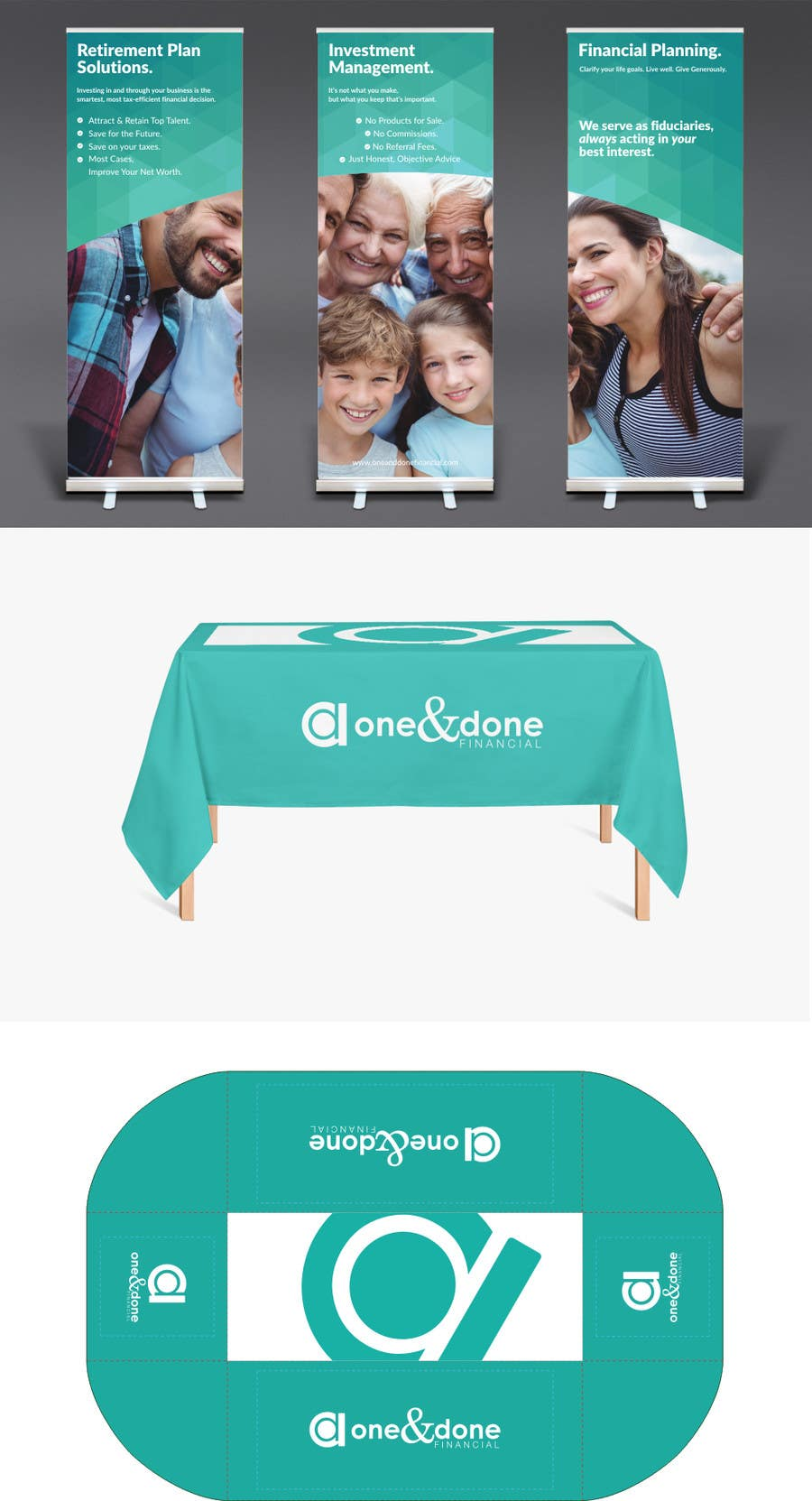 Kilpailutyö #20 kilpailussa Design 3 vertical (roll-up) banners and tablecloth for expo booth