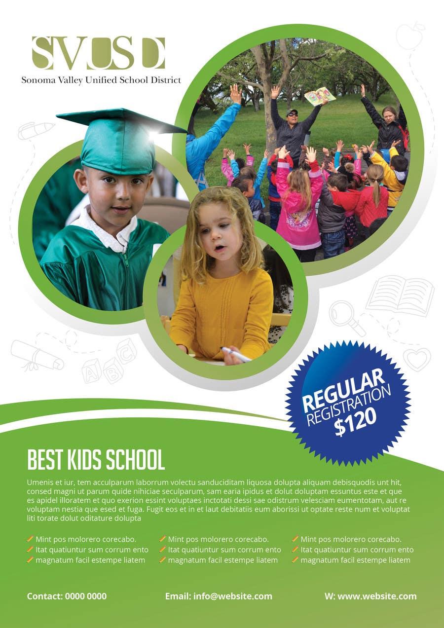 Proposition n°56 du concours Education Preschool and Kindergarten Registration Flyer
