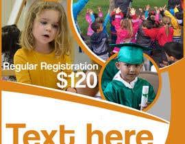 Nro 32 kilpailuun Education Preschool and Kindergarten Registration Flyer käyttäjältä spdmf