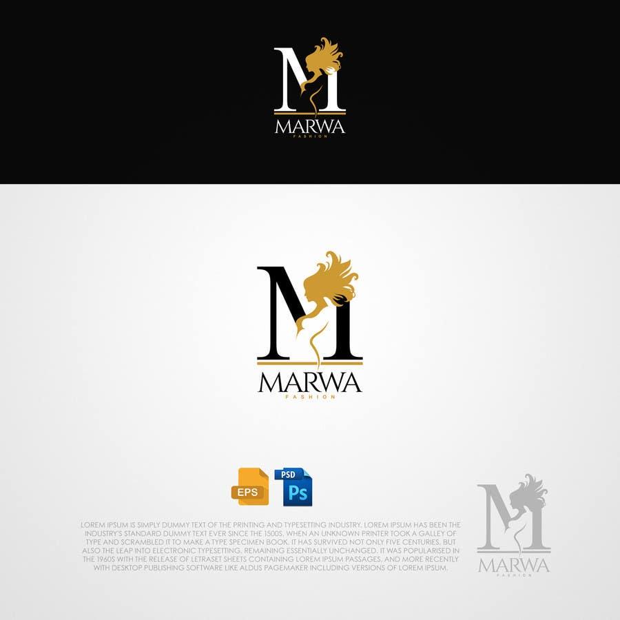 Proposition n°132 du concours Marwa Fashion Logo Design