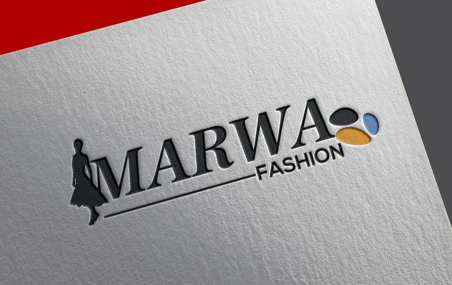 Proposition n°130 du concours Marwa Fashion Logo Design