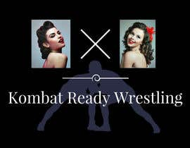 #9 for Kombat Ready Westling Logo Design by nurshadiaashikin