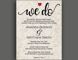 #18 para Design a Wedding Invite de sultanglt