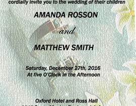 #10 para Design a Wedding Invite de praveenlight