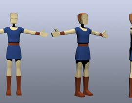#21 for Model a Low Poly 3d Character by TopCGer