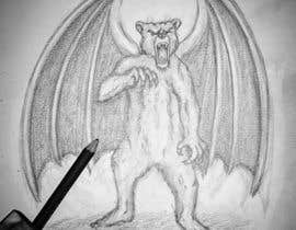 nº 5 pour Illustrate Gargoyle/Bear par Airbrushhero