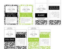 nº 16 pour Tea Packging design par lounzep