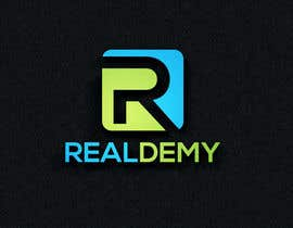 nº 278 pour Realdemy - Logo for mobile app - Real Estate Eucation Online par hossain987r