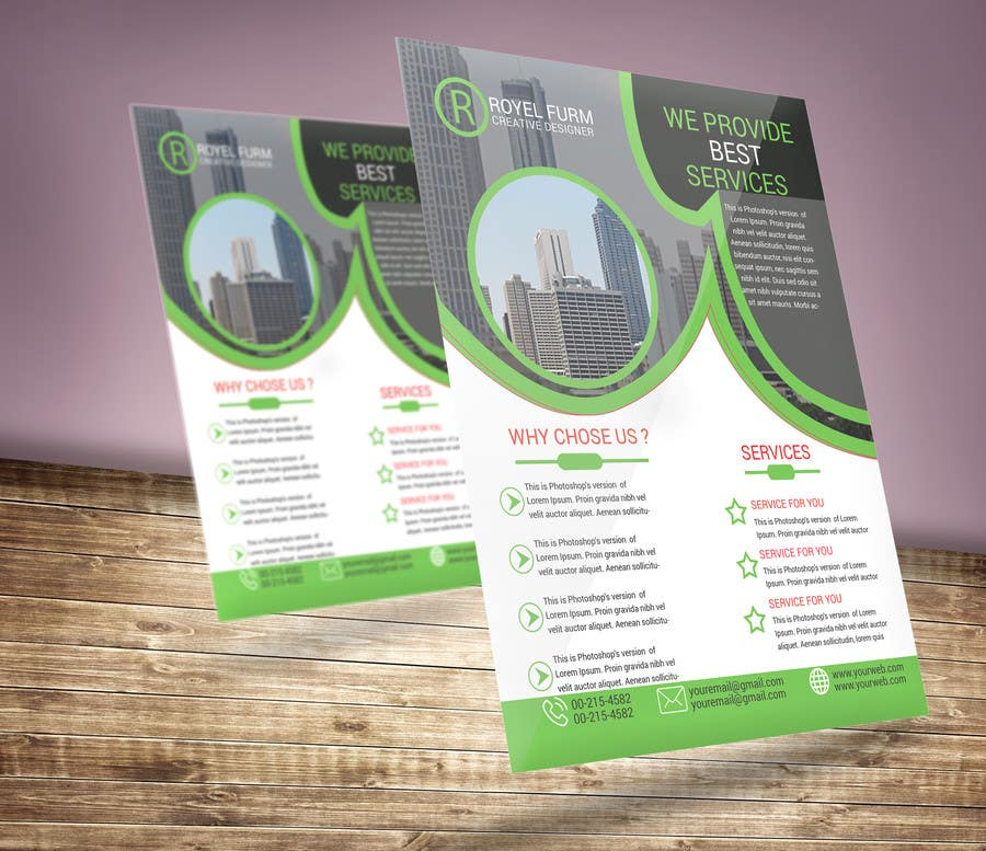 Kilpailutyö #                                        18                                      kilpailussa                                         Design a flyer