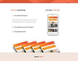 nº 21 pour Design a Website Mockup par xsanjayiitr