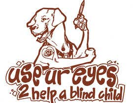 #13 for Cartoon illustration for charity: Use your eyes to help a blind child af ramadhiansanjaya