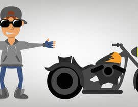#6 for Illustrate Game Character and Motorcycle (2D) by JavierCordero92