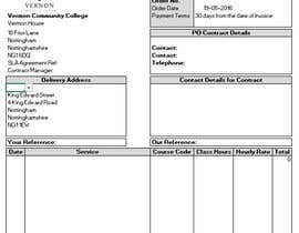 nº 9 pour I need a excel invoice template making par cadeeptiarora