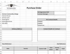 #5 for I need a excel invoice template making by aturgut