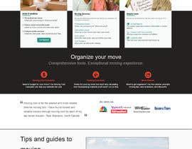 nº 6 pour Build a website for moving company par VirtualAdeptz17