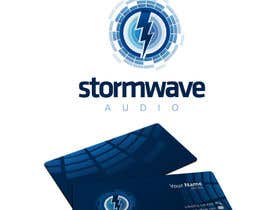 #170 for Logo Design for Stormwave Audio by etienn