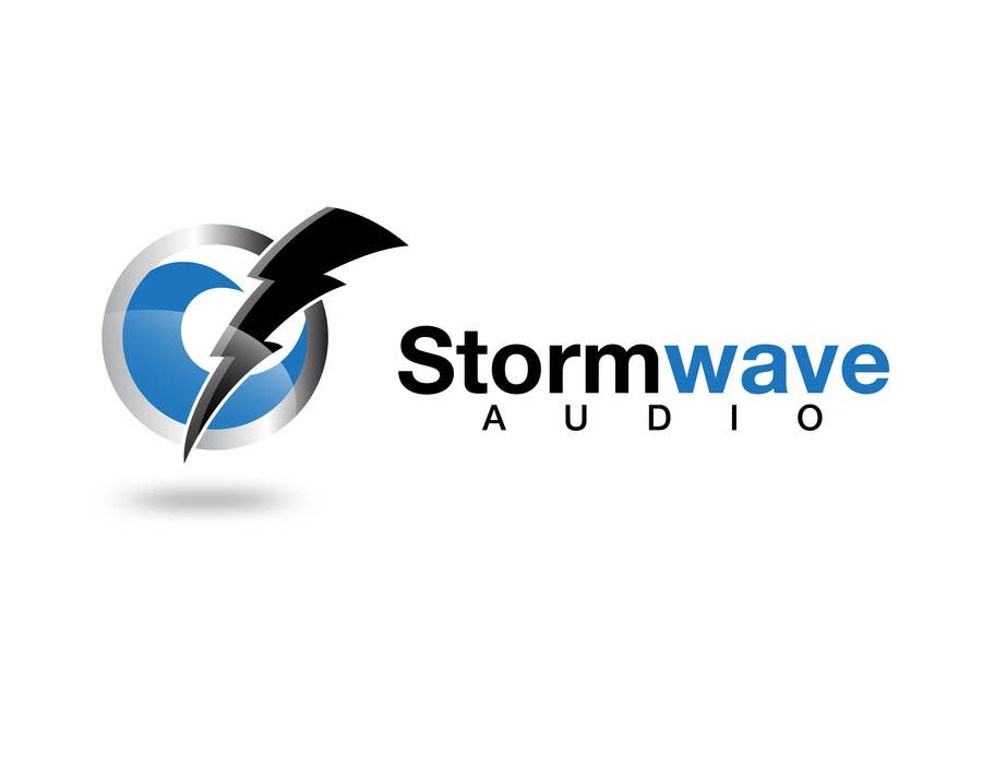 Konkurrenceindlæg #                                        90                                      for                                         Logo Design for Stormwave Audio