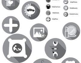 nº 25 pour Design some Icons par ReazunNobi