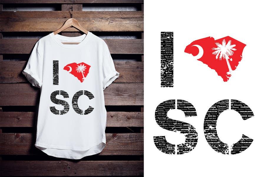 Kilpailutyö #95 kilpailussa Design a T-Shirt