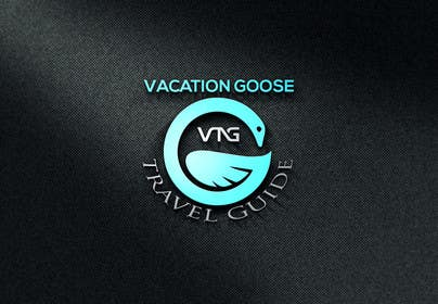 #13 for Design a Logo for Vacation Goose Travel Guide book cover by shahporan20170