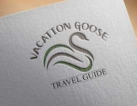 #11 for Design a Logo for Vacation Goose Travel Guide book cover by Antonyguit