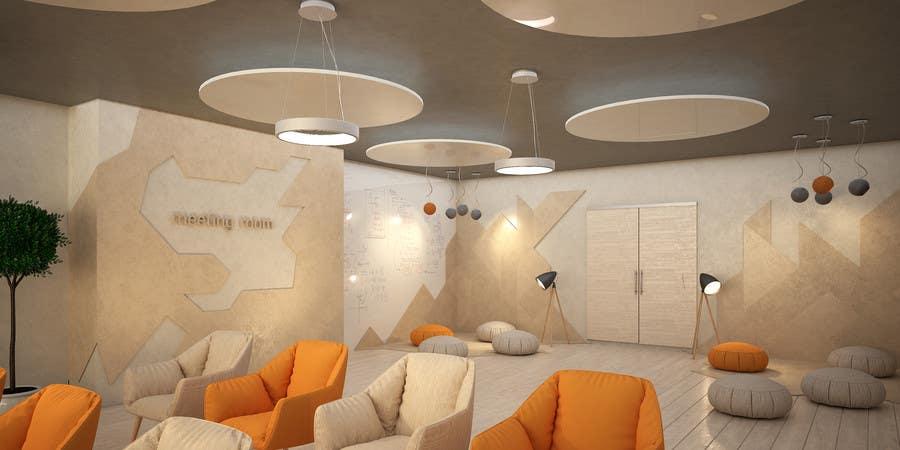 Kilpailutyö #                                        3                                      kilpailussa                                         3d interior Design for 2 rooms (2 days contest) -- 1000$ project