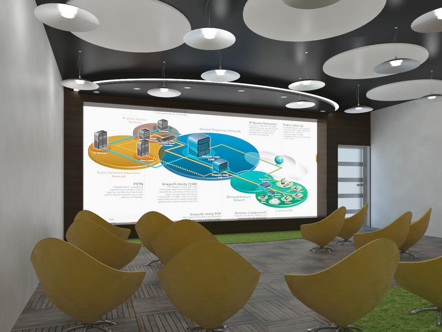 Kilpailutyö #                                        9                                      kilpailussa                                         3d interior Design for 2 rooms (2 days contest) -- 1000$ project
