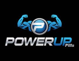 nº 217 pour Logo Design for Power Up Pills par raikulung