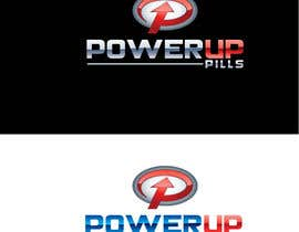 #320 para Logo Design for Power Up Pills por raikulung